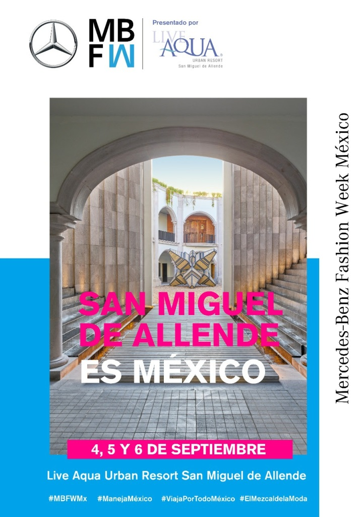 LA DISEÑADORA CARLA FERNÁNDEZ DICE PRESENTE EN EL MERCEDEZ-BENZ FASHION WEEK  MÉXICO.
